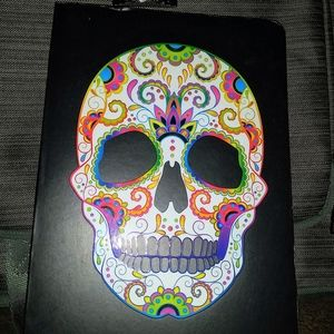 New Piccadilly Sugar Skull Lined Journal